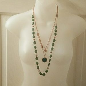 3 layer boho necklace